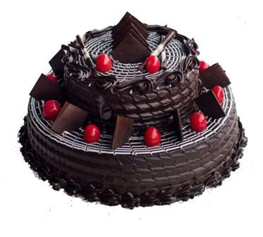 2 Tier Chocolate Truffle