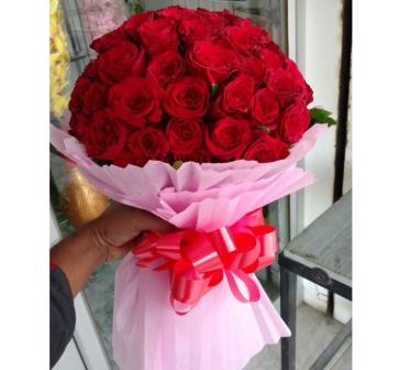Rose Flower Bouquet | flora for u | Best Florist in udaipur, flower ...