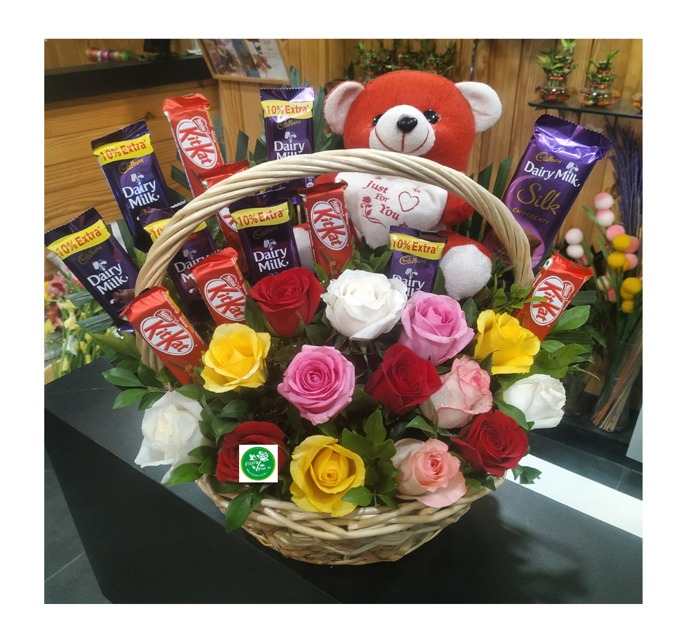 FFU Teddy Bouquet